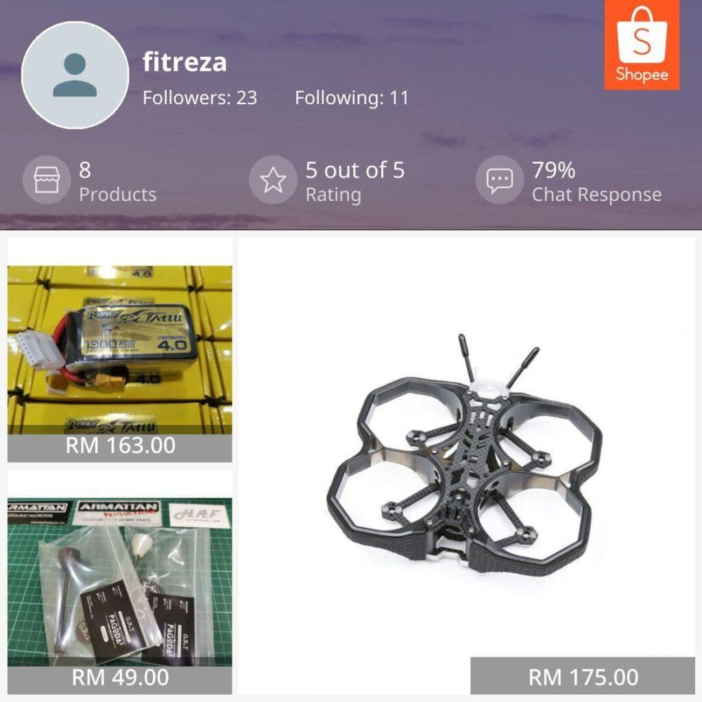 haf drone shopee marketplace